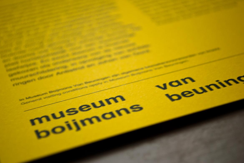 Josselin Tourette – Design graphique – Flyer Thonik Amsterdam – Typography Type – boijmans museum