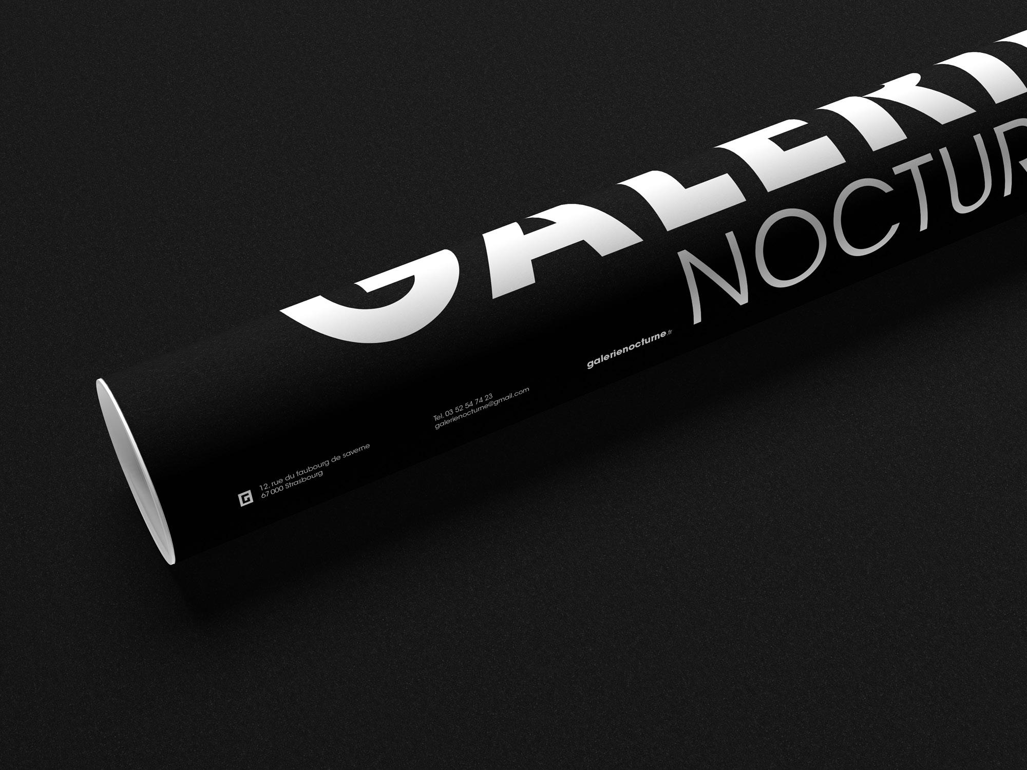 Galerie-nocturne-branding-tube