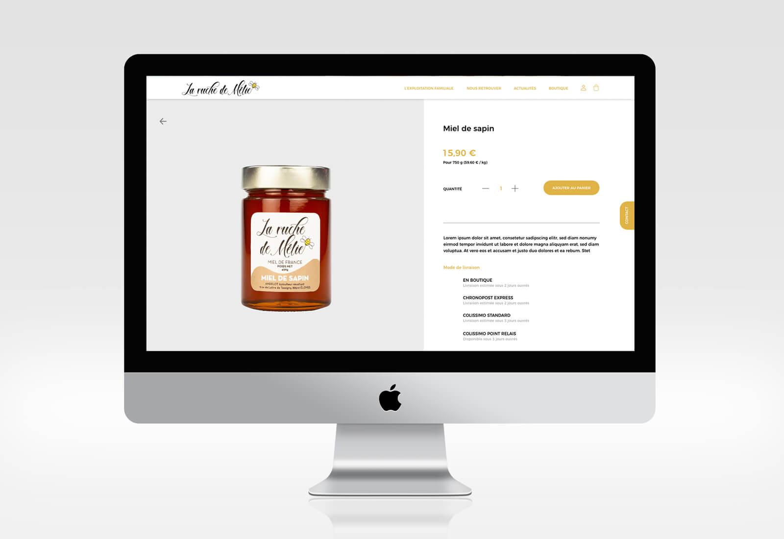 Josselin tourette – miel -ruche – melie – site-internet – 2