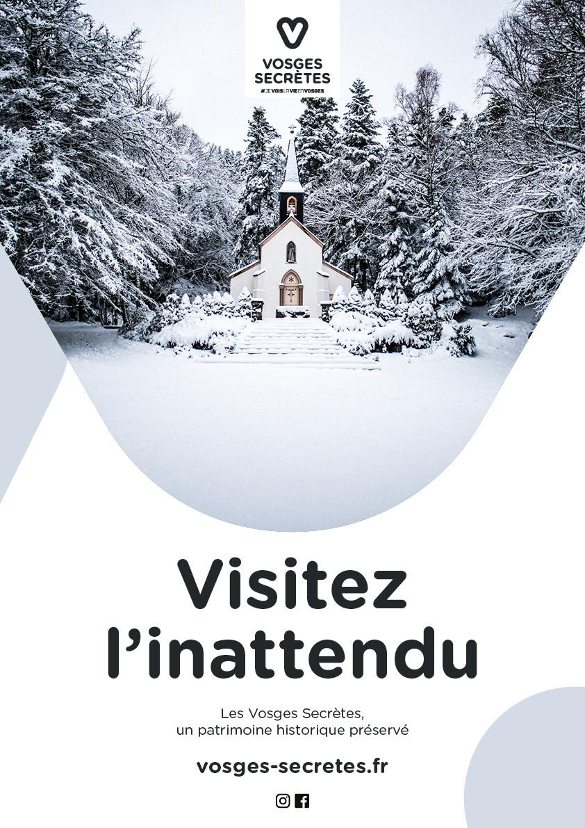 Josselin tourette – affiche – A3 – Vosges Secretes – v1