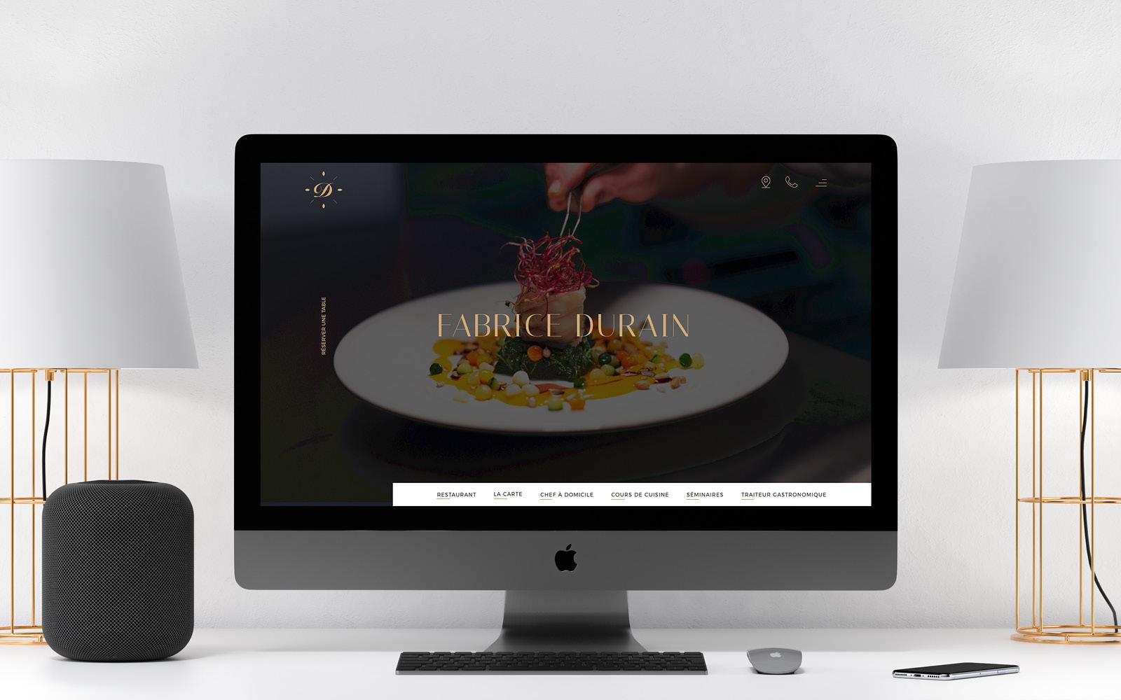 Fabrice durain – site – restaurant