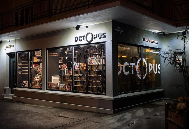 Librairie Octopus