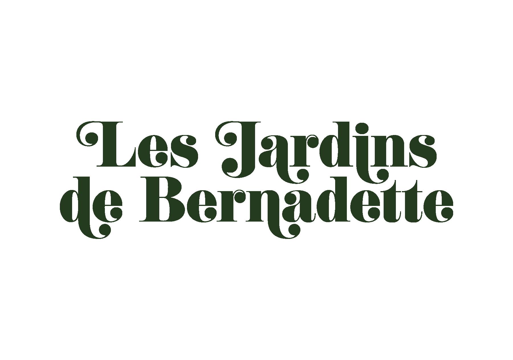 les jardins de bernadette – josselin tourette – logo – vertical – vert1