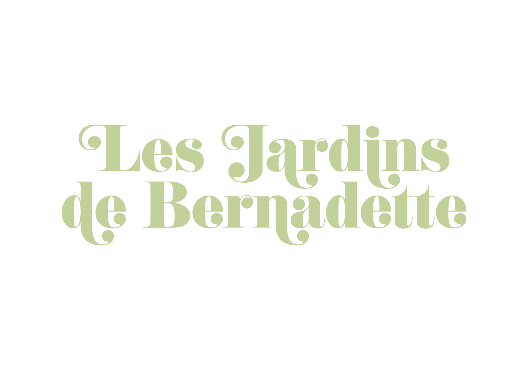 les jardins de bernadette – josselin tourette – logo – vertical – vert3